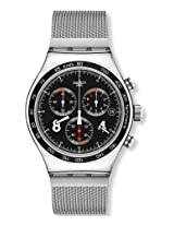Swatch Irony Analog Black Dial Men's Watch - YVS401G