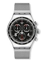 Swatch Irony Analog Black Dial Men's Watch - YVS401G