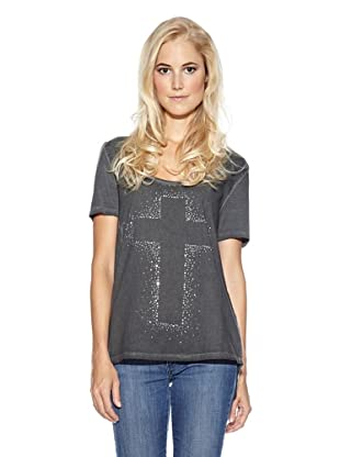 Cream T-Shirt Annika (Anthrazit)