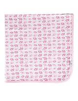 Tadpoles Receiving Blanket, Elephant/Pink
