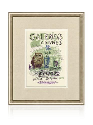 Pablo Picasso Galerie 65, 1959, 14