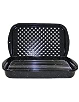 Granite Ware 0513-2 Bake Broil and Grill Pan Set, 3-Piece