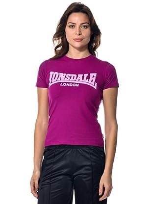 Lonsdale London Camiseta clásica (Violeta)