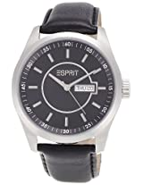 Esprit Circolo Night Analog Black Dial Men's Watch - ES104081001