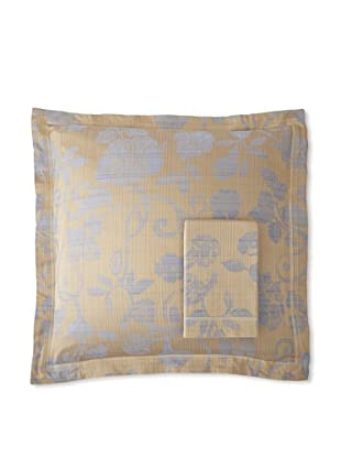 Belle Epoque Pair of Adriana Euro Shams, Blue, 26