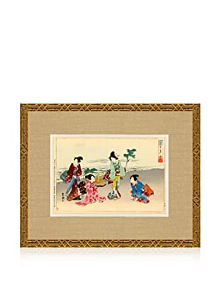 1898 Toyokuni, Asian Woodblock Print V