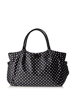 Kate Spade Women's Stevie Baby Bag Satchel, Black Dots