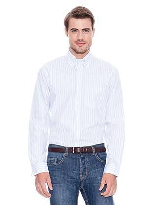 Brooks Brothers Camisa Vestir Phoenix (Verde / Azul / Blanco)