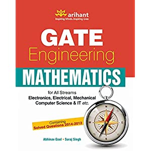 GATE Engineering Mathematics for All Streams (ME, EC, EE, CE, CS & IT, IN etc.) (Old Edition)