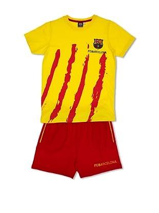 Licencias Pijama F.C. Barcelona (Amarillo / Rojo)