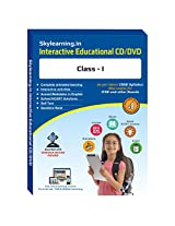 Skylearning CBSE Class 1 CD/DVD Combo Pack (English, Maths, Science, Hindi Vyakaran, Computer, G.K., EVS)