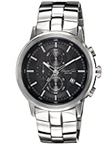 Kenneth Cole Analog Black Dial Men's Watch - IKC9225