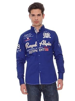 Geographical Norway Camisa Zarmonie (Azul Royal)
