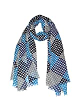 She Dezire polka printed woolen stole