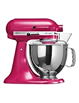 KitchenAid Artisan 5KSM150PSDRI 4.8-Litre 300-Watt Tilt-Head Stand Mixer (Raspberry Ice)