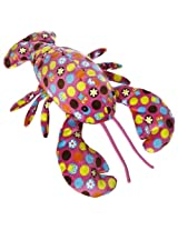 "Mary Meyer 17"" Hoots Pink Print Lobster Plush"