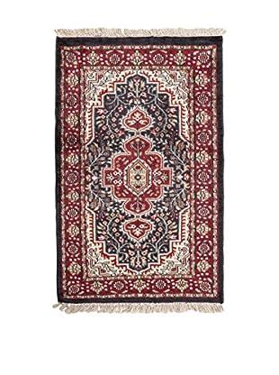 QURAMA Teppich Taj-Mahal rot/schwarz/mehrfarbig