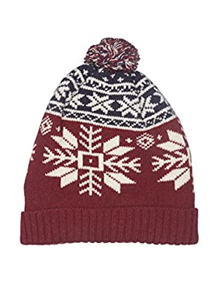 Hackett London Gorro Lana Snow Flake Knit Beanie