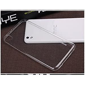 Baseus Air Ultra Thin 0.6mm Flexible Transparent Back Case Cover for HTC Desire 816