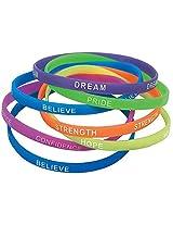 Thin Inspirational Bracelets - 12 per unit