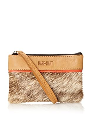 HARE + HART Women's Mama Pouch, Camel Combo