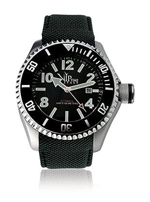 Vip Time Italy Uhr mit Japanischem Quarzuhrwerk VP5019AU_BK schwarz 50.00  mm