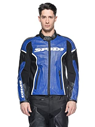 Spidi Chaqueta Gp Leather (Azul / Negro)