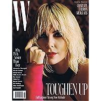 W Magazine August 2017 小さい表紙画像