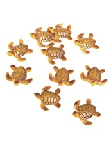 Generic 10pcs Miniature Dollhouse Bonsai Fairy Garden Landscape Sea Turtle Decor