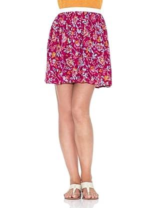 American Vintage Falda Estampado (Fucsia)