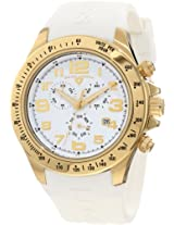 Swiss Legend Men's 30041-YG-02WHT Eograph Chronograph White Grid Dial Watch