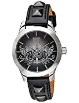Marc Ecko Analog Black Dial Unisex Watch - E08510M1