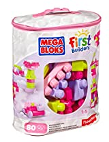Fisher Price First Builders Big Building Bag, Pink