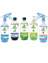 Natural Care Office Cleaning Kit (Pack Of 5) -2.5Liters