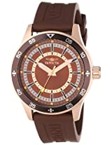 Invicta Specialty Analog Brown Dial Men's Watch - 14335