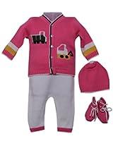 Amity Anchor Kids Warm Wear Set (AA14-15372_6-12 Months_Pink)