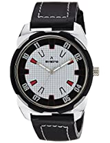 Aveiro Casual Analog White Men's Watch (AV46BWHTBLK)