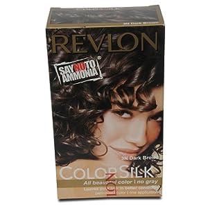 REVLON COLOR SILK SHADE NO. 3N DARK BROWN