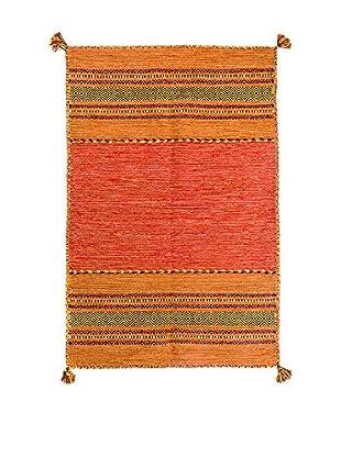 RugSense Alfombra Kilim Tribal Naranja 230 x 160 cm