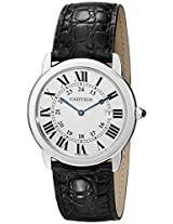 Cartier Men's W6700255 Analog Display Quartz Black Watch