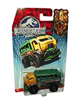 Matchbox Jurassic World Travel Tracker Die Cast Toy Vehicle