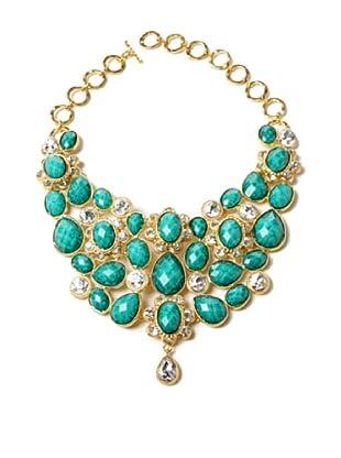 Amrita Singh Collar Crystal South Fork Bib Fall Turquesa