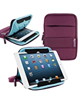 rooCASE XTREME Super Foam (Purple) Sleeve Cover for Apple iPad Mini / Galaxy Tab 2 7.0 / Kindle Fire HD 7 / Nexus 7 - Support Landscape and Portrait Display
