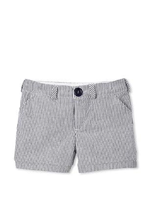 Upper School Girl's Seersucker Shorts (Anchor)