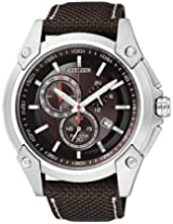 Citizen Eco-Drive Analog Brown Dial Men's Watch AT0851-23W