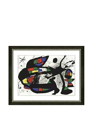 Joan Miro: Original Lithograph, 1978
