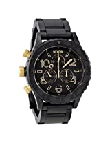 Nixon 42-20 Chrono Black Dial Chronograph Custom Solid Stainless Steel Men's Watch - Nxa0371041