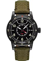 Burberry Gmt Green Nylon Mens Watch Bu7855
