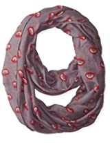 D&Y Women's Halloween Fangs Loop Scarf