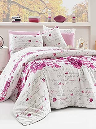 Colors Couture Bettdecke und Kissenbezug Elena